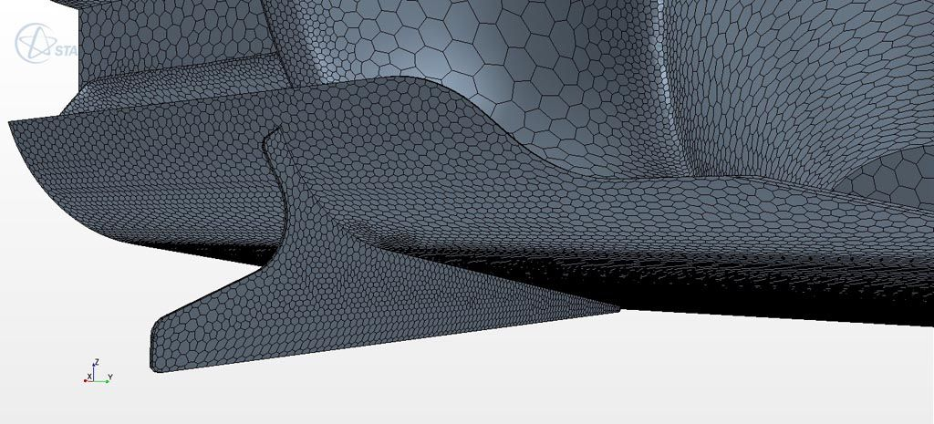 Verus Engineering FRS/BRZ Rear Diffuser CFD Surface Mesh