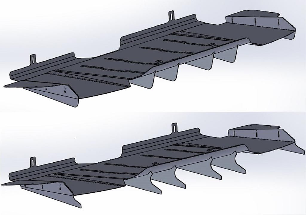 Verus Engineering Subaru WRX/STI Rear Diffuser CAD