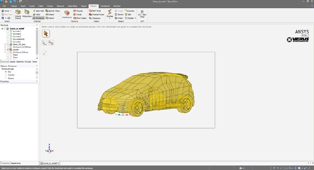 Verus Creating a Fluid Domain in ANSYS Spaceclaim